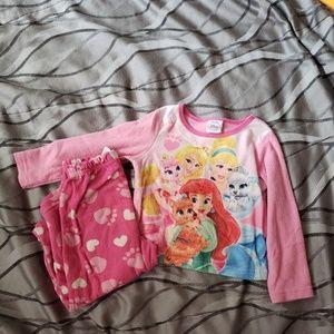 Other - Disney princess pj  set